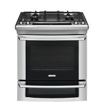 Electrolux Wave Touch Series  EW30DS65GS 30 Inch Slide in Dual Fuel Range