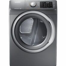 SAMSUNG DV42H5200EP 27  Platinum Front Load Electric Dryer Nob Wlk T 2  14257