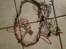 Whirlpool stacked Washer Dryer  Dryer Wiring Harness 3398872