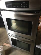 Kenmore 790 48763900 27  Stainless Steel Electric Double Wall Oven