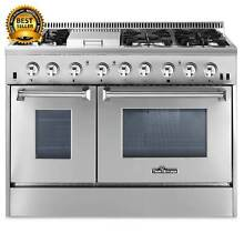 Thor Stainless Steel 48 inch Dual Fuel Range