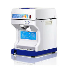 Electric Commercial Snow Cone Machine Ice Maker Ice Shaver Snow Crusher