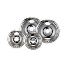 Stanco 4 Pack GE Hotpoint Electric Range Chrome Reflector Bowls With Locking Sl