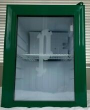 Mini Fridge  Perrier Branded  Glass Door  LED Lighting   BRAND NEW   Open Box