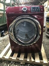 Samsung DVE45N5300F Stackable Electric Dryer   Merlot