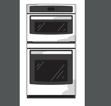 GE 27  Combination Microwave Wall Oven JK3800SHSS Stainless Steel  New in Box