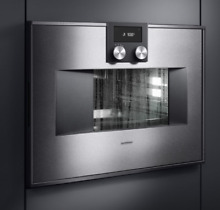 Gaggenau 400 Series BS471610 04 30 Inch Combi   Steam Oven  Right Hinge