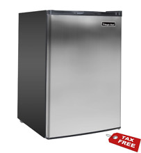 Upright Freezer Stainless Steel 3 0 Cu Ft w  Adjustable Temperature Home  Office