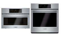Bosch 800 Set 27  Convection Oven  HBN8451UC   Speed Oven Combination HMC87152UC