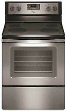 Whirlpool 5 3 Cu Ft  Freestanding Electric Range Stainless Steel 24548226