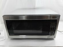Panasonic Microwave Oven  1 6 Cu  Ft  1250W  Stainless Steel  NN SN766S