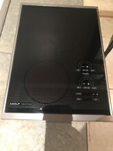 Wolf CT15I S 15  Induction Cooktop  NEW  DISPLAY MODEL