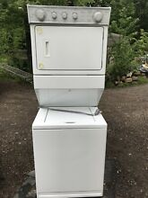 Whirlpool Thin Twin Washer And Dryer  White