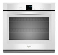 Whirlpool  WOS51EC0AW 30 Inch Single Electric Wall Oven   White