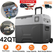 42QT Portable Mini Freezer Compressor Fridges Indoor Outdoor Car Cooler Freezer