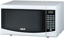 Microwave Oven 7 Cu  Ft White Home Apt Dorm Small Space Counter top