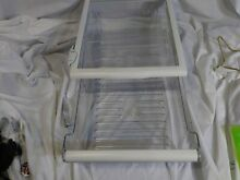 Kenmore Fridge Shelf spill proof glass Drawer and Assembly 2200816  and 009907