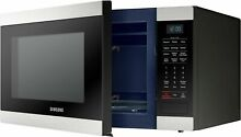 Samsung MS19M8000AS 1 9 Cu Ft Countertop Microwave Stainless Steel