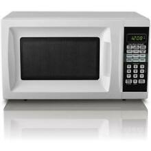 Small Microwave Oven for Dorm Bar Kitchen Counter Camper Space Saving  7 Cu  Ft