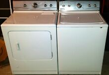 Maytag Washer   Dryer Combo MTW5870TW0  MGD5870TW0 Used
