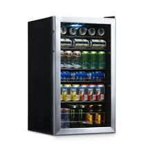 Small Beverage Cooler Commercial Under Counter Beer Soda Fridge with Glass Door