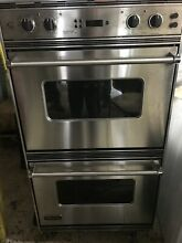 Viking 27 IncDouble Oven Vedo205ss   Used A Couple Of Times   Great condition