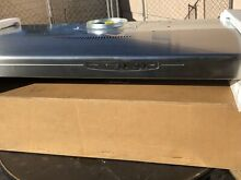 Nutone Allure Range Hood 42  Stainless Steel WS142SS above Stove Convertible