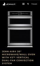 JENN AIR  30  MICROWAVE WALL OVEN WITH V2  VERTICAL DUAL FAN CONVECTION SYSTEM