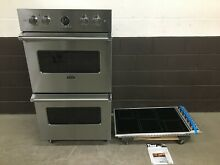 2 pc set  Viking Induction 36 Cooktop VICU2666BSB    30  Double Oven VDOE530SS