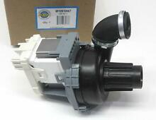 Dishwasher Motor Pump Assembly Replacement for Whirlpool W10510667 Kenmore Roper