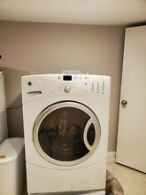 GE Front load Washer King size Capacity  Stainless Drum  Energy Star  gentle use