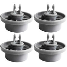 4x Wheels For BOSCH Siemens Neff Dishwasher Rack Basket  Vacuum Cleaner Replace