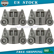 NEW 4 Pcs Dishwasher Rack Rollers Fit For Whirlpool Kenmore WPW10195417