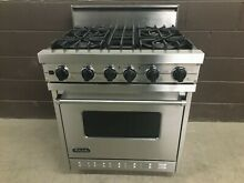 VIKING VGSC305 4BSS 30  PRO Gas Range Oven 4 Burner Stainless Steel