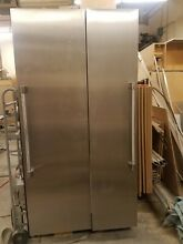 Thermador Column T24Refrigerator  T18Freezer Stainless 42  BuiltIn