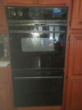 Jenn Air   27  Built in Electric Double Wall Oven  Black