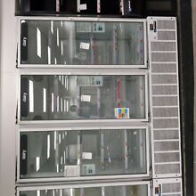 Glass 3 Door Cooler Merchandiser Master Bilt BMG 74 Commercial Refrigerator MINT