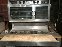 The Fabulous  400  Tappan Double Oven Mid Century Working