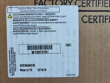 Original  Whirlpool Refrigerator   Ice maker  W10873791