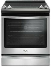 New  Whirlpool WEE745H0FS  30 Inch Slide In Convection Electric Range