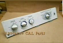 GE washer console with control board and knobs 175d4490p003