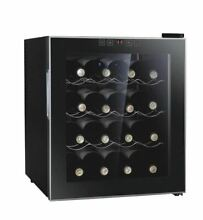 16 Bottle Freestanding Thermoelectric Wine Bar Kitchen Cooler Refrigerator