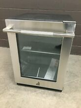JennAir JUGFR242HL RISE 24  Undercoutner Glass Door Refrigerator Stainless Steel