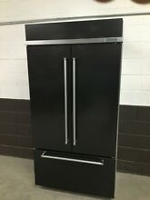 KitchenAid 42  Built In French Door Refrigerator Black Stainless KBFN502EBS