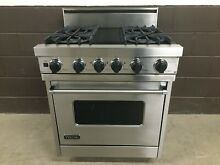 Viking VDSC305 4BSS  30  Professional Range Dual Fuel 4 Burner Stainless Steel