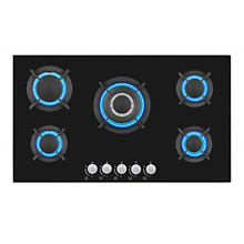 Empava 34 Inch Gas Cooktop Professional 5 Italy Sabaf Burners Stove Top with in