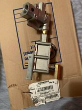 GE Range control valve assembly  WB21X28820 Condition is New  Range Stove Parts