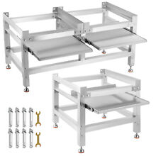 Washing Machine Stand Laundry Pedestal for Washer and Dryer 300 590lbs Aluminum