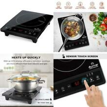 Duxtop Portable Induction Cooktop  Countertop Burner  Induction Burner With Time