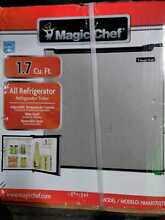 Magic Chef 1 7 cu  ft  Freezerless Mini Fridge in Stainless Steel
